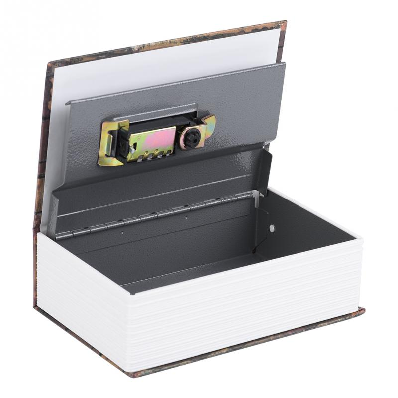 Password Book Piggy Bank Creative Storage Safe Box Dictionary Book Bank Money Cash Jewellery Hidden Secret Security Locker Gift цена