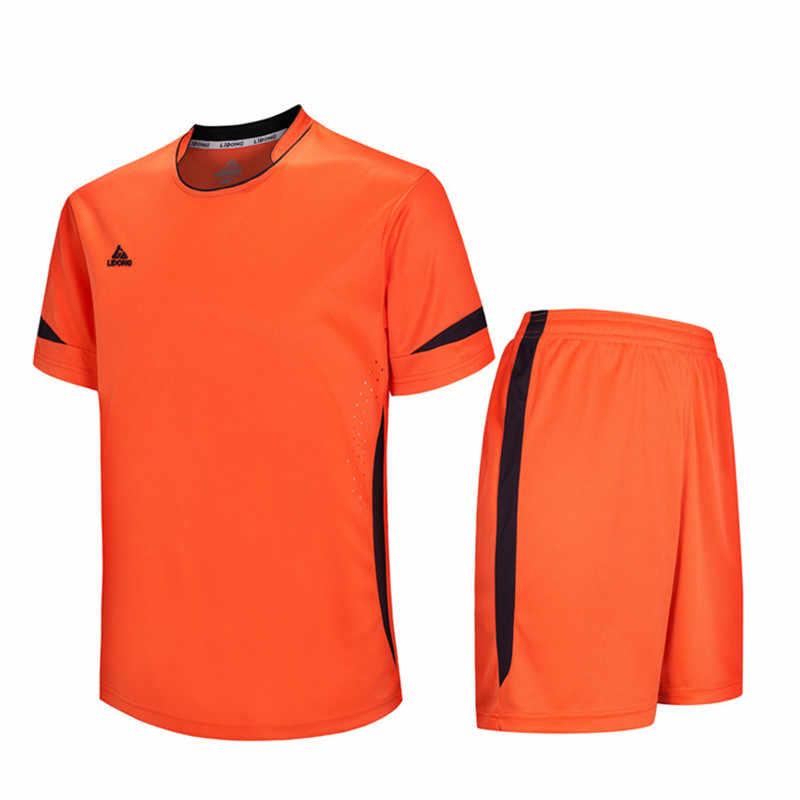 Детское футбольное Джерси наборы survetement футбол 2019 комплект спортивные майки форменные футболки Короткие maillot de foot DIY название номера