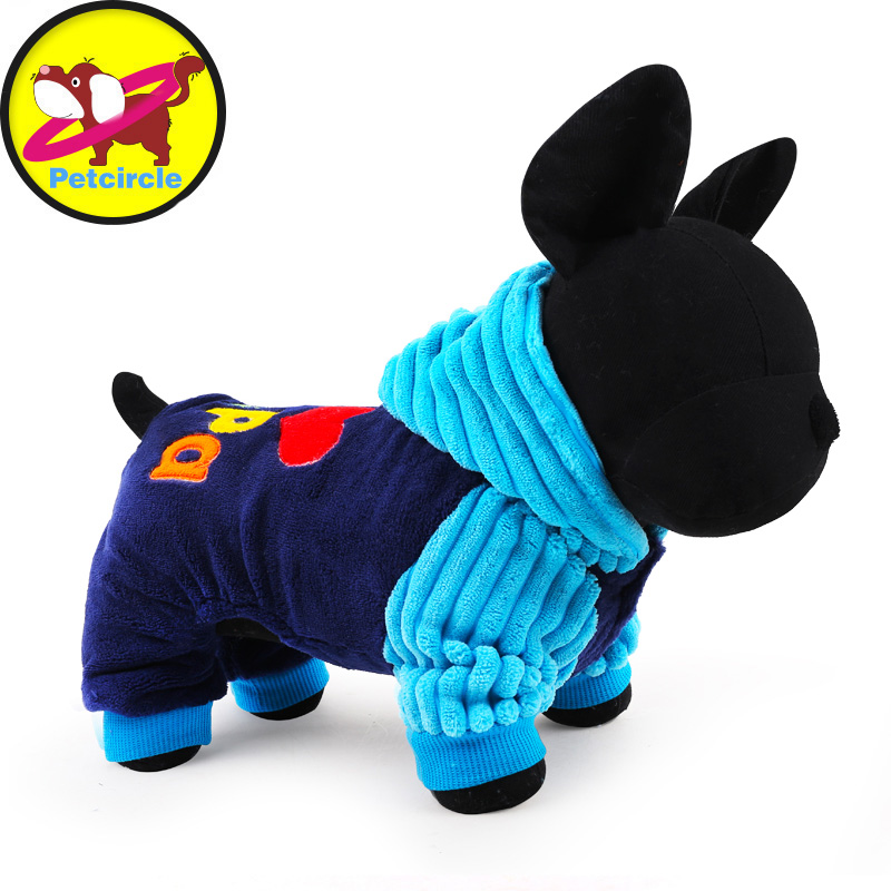 2017 Petcircle Fashion I love papa and mama winter Pet Dog Clothes Clothing For Pet Small Large Dog Coat Winter Clothes Jackets