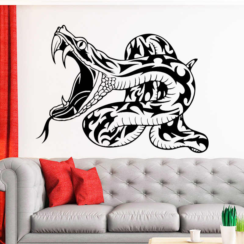 detail feedback questions about terrible snake wall sticker for kids