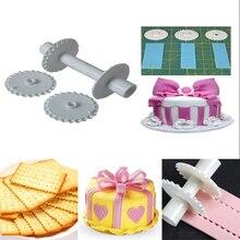 Lace Roller Plastic Fondant Cake Molds Modelling Tools