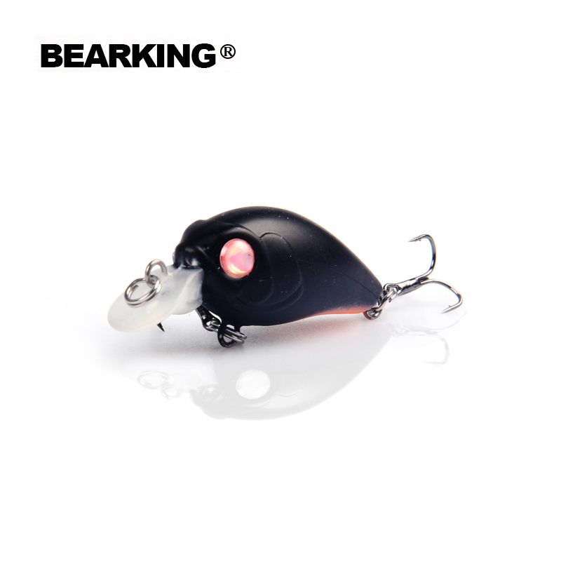 Perfect Bearking 5pcs/lot professional quality A+ fishing lures,35mm/3.5g,dive 1.5m each lot 5pcs different colors,Free shipping