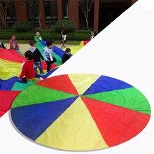 eb0b624f4f35 1 2 M niño niños deportes desarrollo exterior Arco Iris paraguas paracaídas  juguete saltar-saco Ballute jugar paracaídas