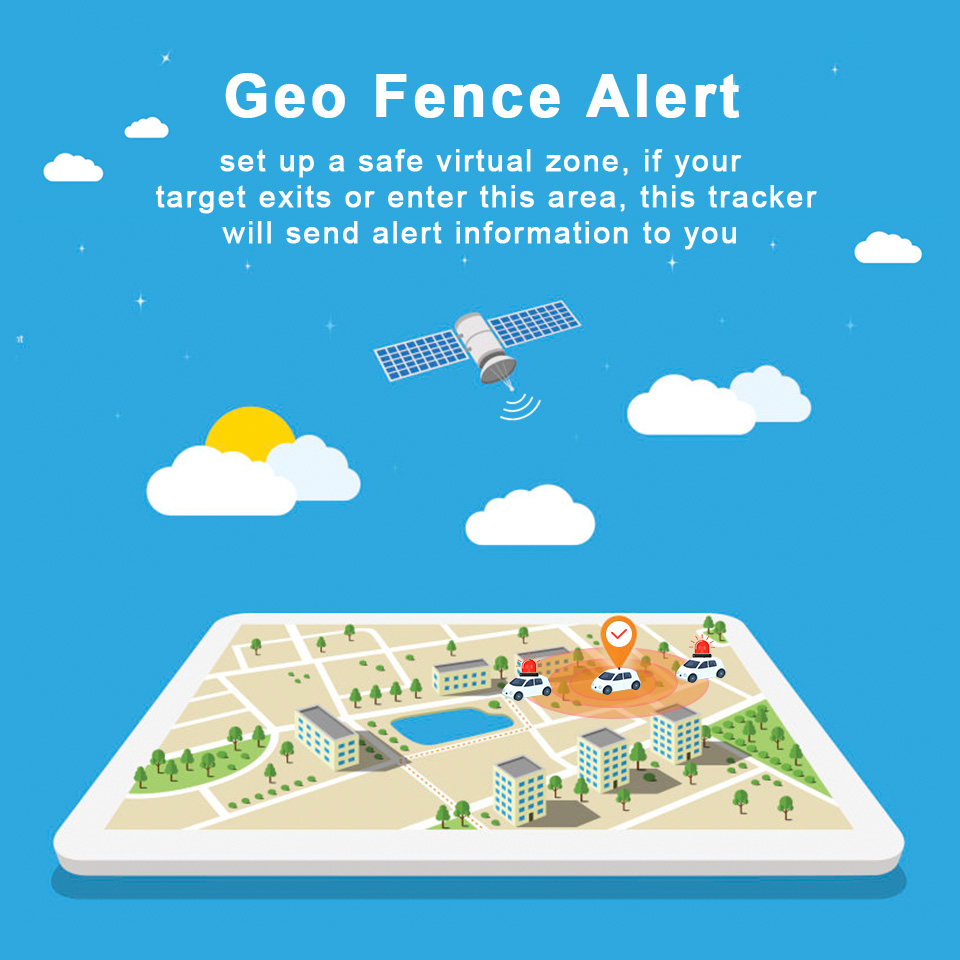 Новый стиль GPS трекер онлайн система слежения + ручной мини трекер для пожилых людей и детей слежения - 4