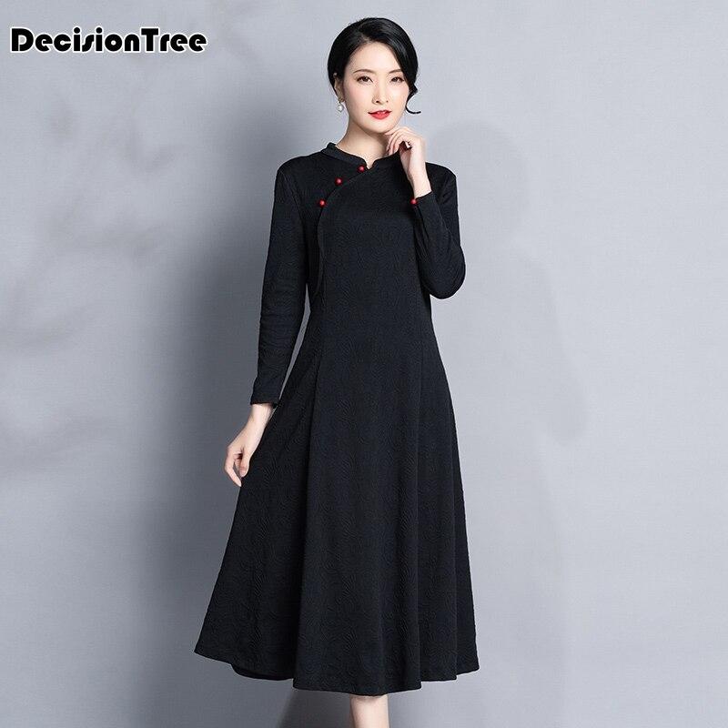 2019 style quotidien porter amélioré qipao femmes robe courte style imprimé à manches courtes pur coton sexy cheongsam