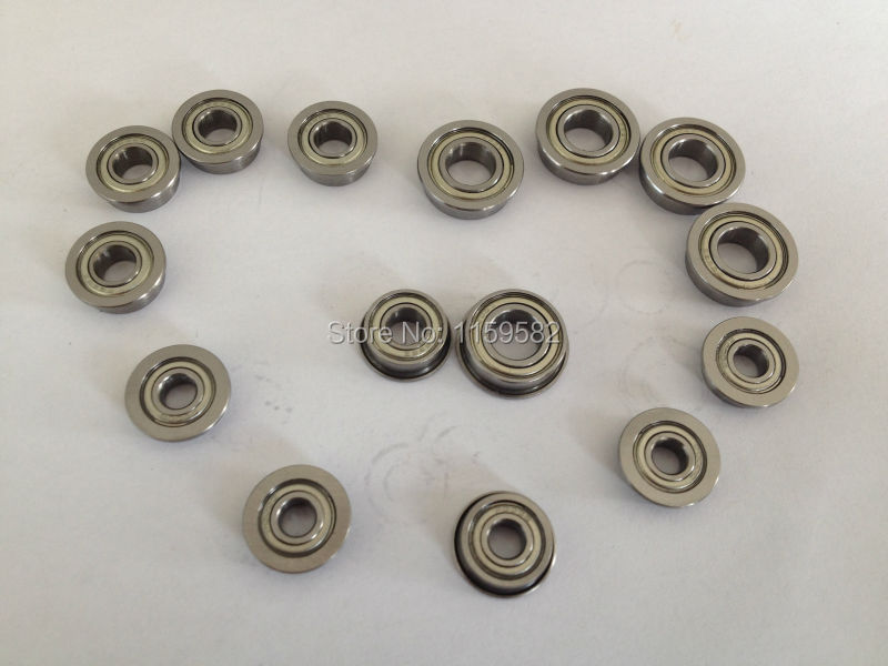 MF106ZZ MF106Z MF106 Z 6X10X3MM High speed & Low noisy Flange ball bearing MF106 ZZ 6*10*3 MM 6*10*3MM MF106-ZZ 6X10X3 MM