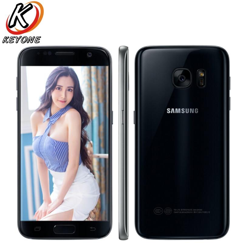 Originais Samsung Galaxy G9300 S7 4G LTE Mobile Phone 5.1