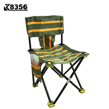 K8356 Quality Portable 600D Nylon Cloth lFloding Fishing Chair Outdoor Beach Camping Chair Green With Yellow 4 Sizes For Choosen