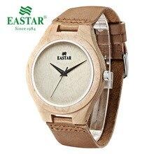 935ee8e6a31 Eastar Bordo Relógio Analógico de Quartzo Relógios Leves Do Vintage Feitos  À Mão de Madeira Natural