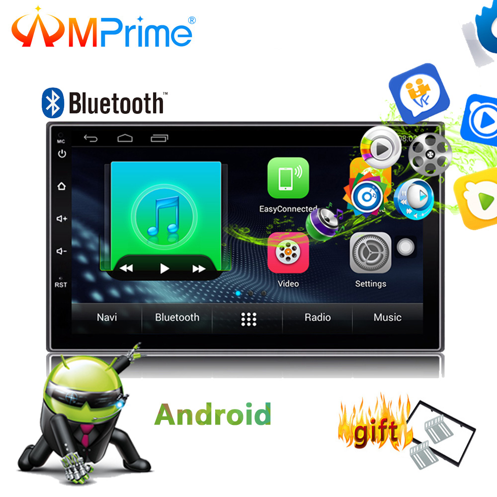 AMPrime 2Din Car Radio Stereo Android 7