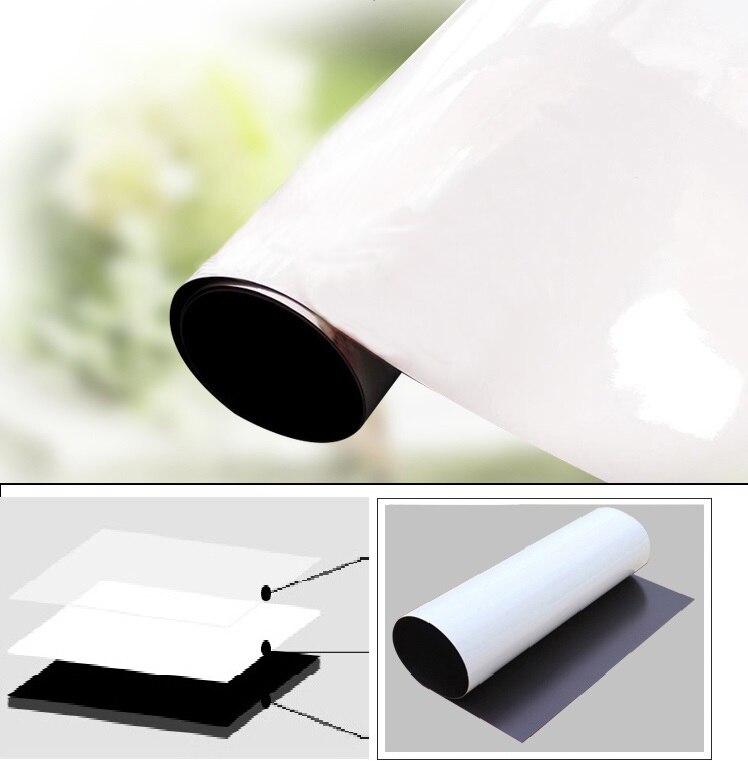 A1 tableau blanc magnétique et boîte de rangement magnétique papeterie 1 gomme 4 couleurs aquarelle stylo 3 marqueur magnétique mémo planches - 4