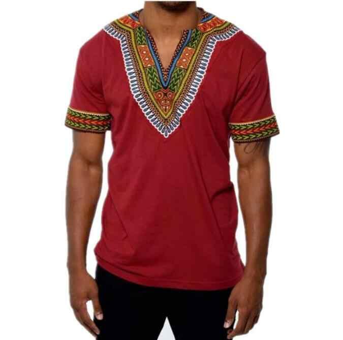 ... T camisa verano diseño de moda impreso hombre africano ropa para  hombres 2018 Dashiki tradicional Camiseta ... 91793e4e038