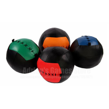 35cm Crossfit Medicine Ball Empty Snatch Wall Balls Heavy Duty Exercise Kettlebell Lifting Fitness MB Muscle Building 6