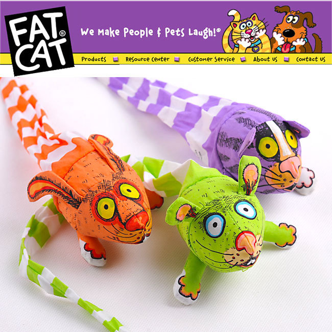 50PCS/LOT 3135# Wholesale Pet Products Cat Supplies CAT Toy Pet Toy Fatcat Toy Fat Cat Toy With Catmint Catnip