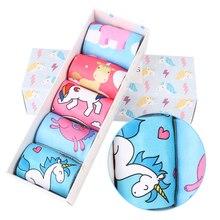 Women's Cartoon Unicorn Printed Socks Set