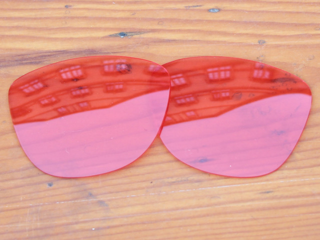 Crystal Pink Replacement Lenses For Frogskins Sunglasses Frame 100% UVA & UVB Protection