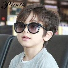 PLINTH, солнцезащитные очки для мальчиков, кошачий глаз, детские солнцезащитные очки, защитные очки, роскошный бренд, модные милые детские очки, UV400, пластиковая оправа