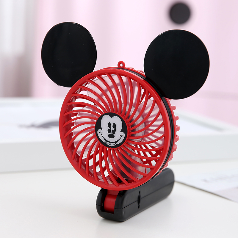 Usb Mini Cartoon Shape Electric Fan Rechargeable Mini
