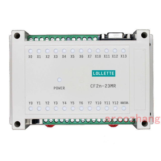 FX2N CF2N 23MR programmable logic controller 12 input 11 relay output plc controller automation controls plc system