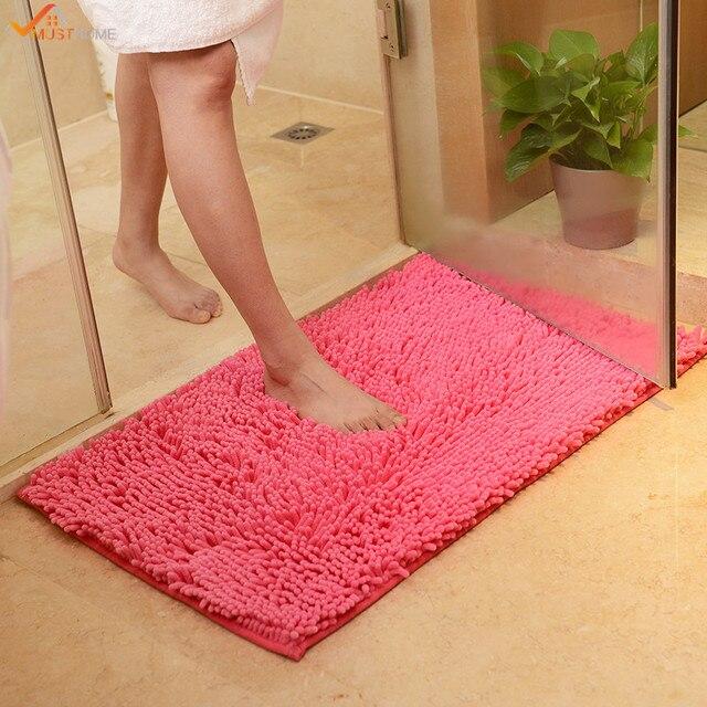 40 60cm Non Slip Bathroom Rug Shower Mat Machine Washable Bath Mats