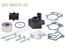 SHCTR Water Pump & Impeller Kit for OEM 692 W0078 02,Sierra 18 3370,60/70/75/80/85/90HP