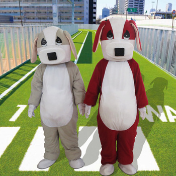 Dog Mascot Character Costume Cartoon Dog Mascotte Costume Halloween Fancy Dress Suit Animal Mascot Costumes for Sale Adult Size