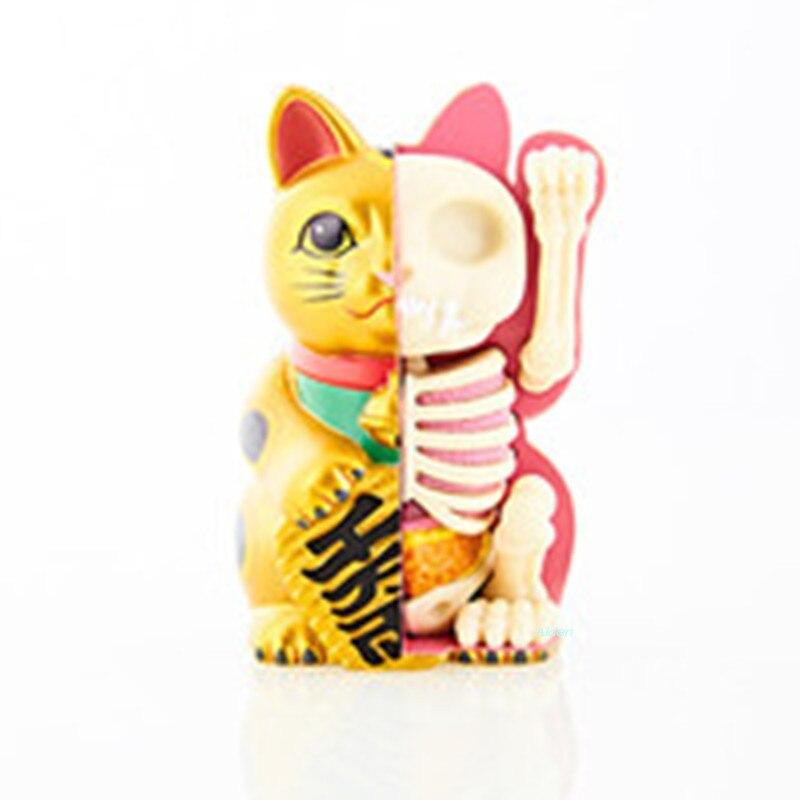 Kaws 4D XXRAY BRIAN Original Fake Zhaocai Cat Perspective Bone Anatomy BFF Street Art Plastic Action Figure Toy BOX 9CM Z1486Kaws 4D XXRAY BRIAN Original Fake Zhaocai Cat Perspective Bone Anatomy BFF Street Art Plastic Action Figure Toy BOX 9CM Z1486