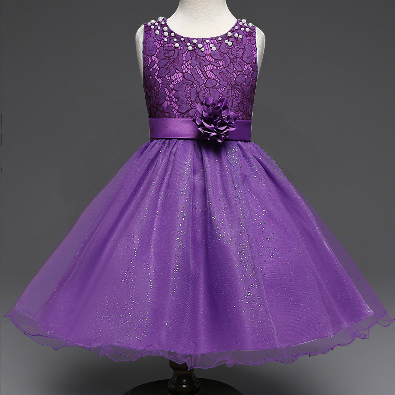New Girl Fashion Dresses Clothes Baby Wedding Bridesmaid Flower Girl ...