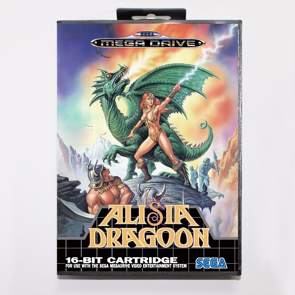 Alisia Dragoon MegaDrive ROM Download