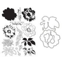 Beautiful day transparent clear stamp/ cutting dies DIY Die Cut Stencil Decorative Scrapbooking Craft Card stencils template
