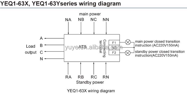 4 pole transfer switch wiring diagram manual wiring diagrams rh imovo co Wire a Three Way Switch as Single Pole Light Toggle Switch Wiring Diagram