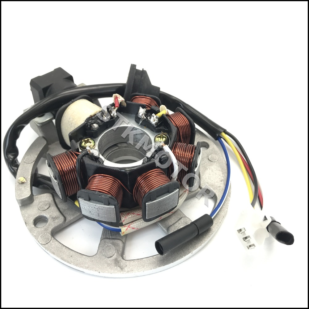 yamaha stator wiring 5 wires 7 coils ignition magneto stator for 2 stroke yamaha jog  5 wires 7 coils ignition magneto stator