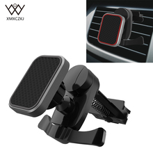 Newest Magnetic Car Phone Holder Air Vent Mount Magnet Holder for iPhone Mobile Phone GPS 360 Degree Universal Car Holders Stand floveme magnetic car phone holder for iphone samsung 360 air mount magnet holder stand for mobile phone in car gps holders mount