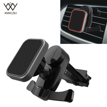 Newest Magnetic Car Phone Holder Air Vent Mount Magnet Holder for iPhone Mobile Phone GPS 360 Degree Universal Car Holders Stand