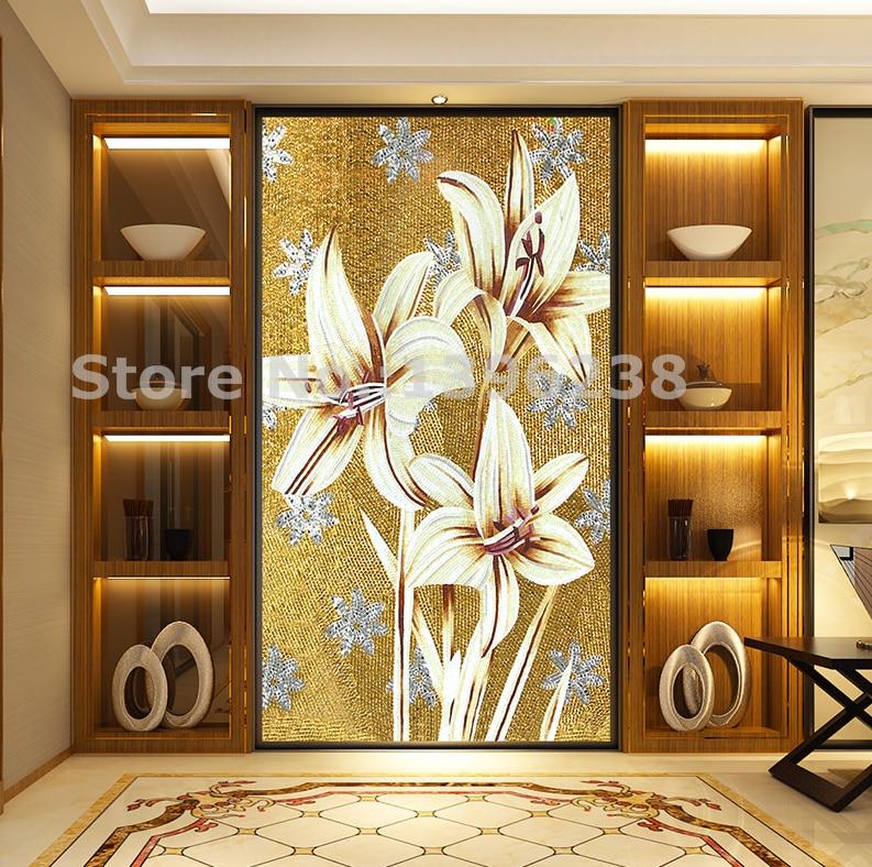 Glass Mosaic Wall Tiles Custom Made Kitchen Backsplash Bedroom Wall Deco