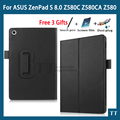 Чехол для Asus zenpad S 8.0 Z580 Z580C Z580CA 8 '' планшет стенд pu кожаный чехол для Asus zenpad S 8.0 + бесплатных 3