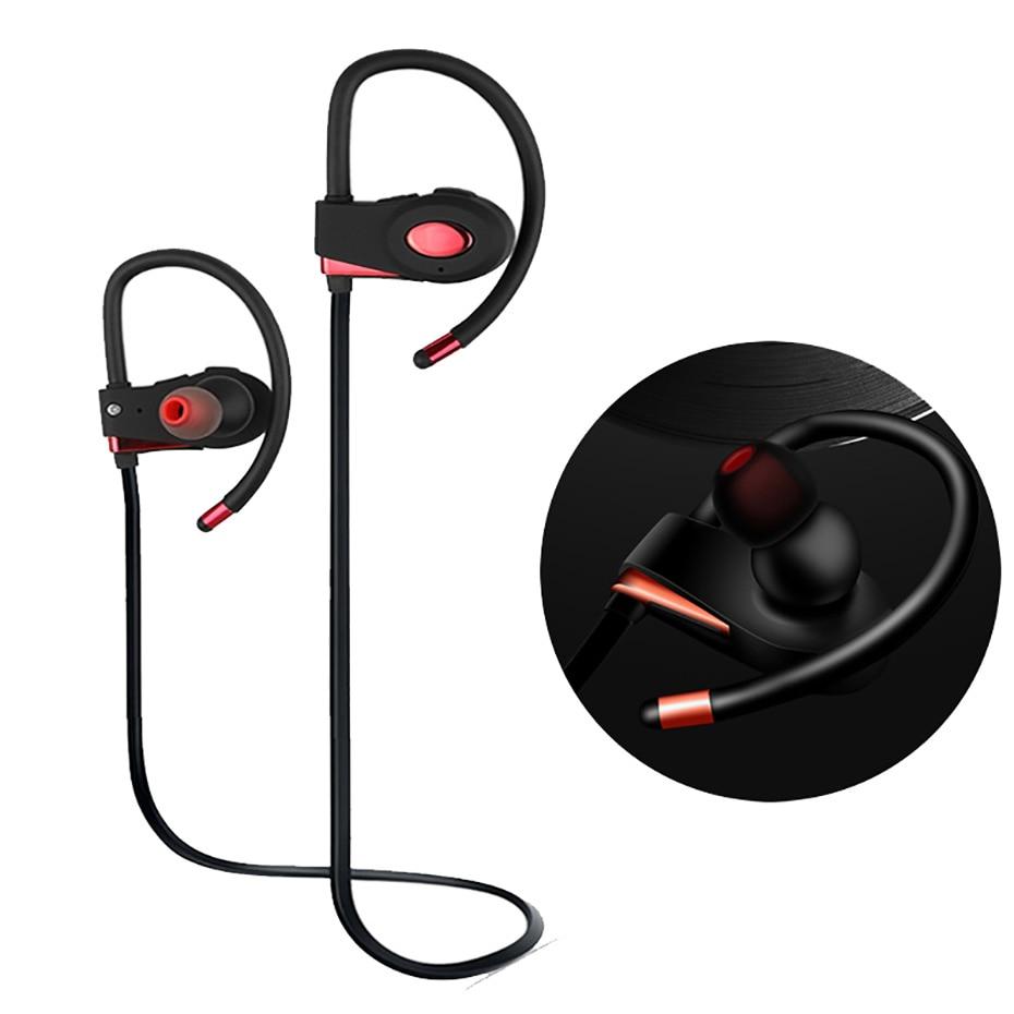 BREAKiX F1 bluetooth headphones sweatproof wireless headphone sports bass bluetooth earphone with mic for phone iPhone xiaomi