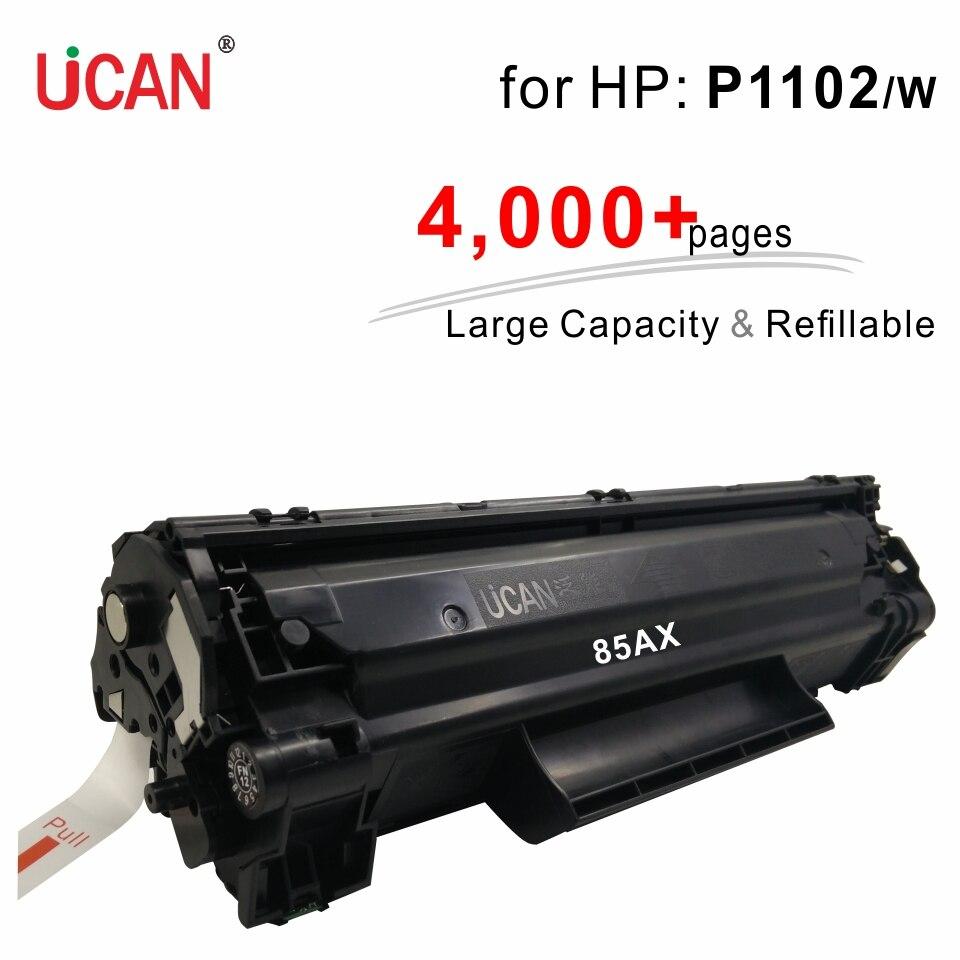 Compatible Hp LaserJet Pro P1102 P1102w P1100 P1106 P1109 printer 85a CE285a Toner Cartridge 4000 pages Large Capacity Reusable