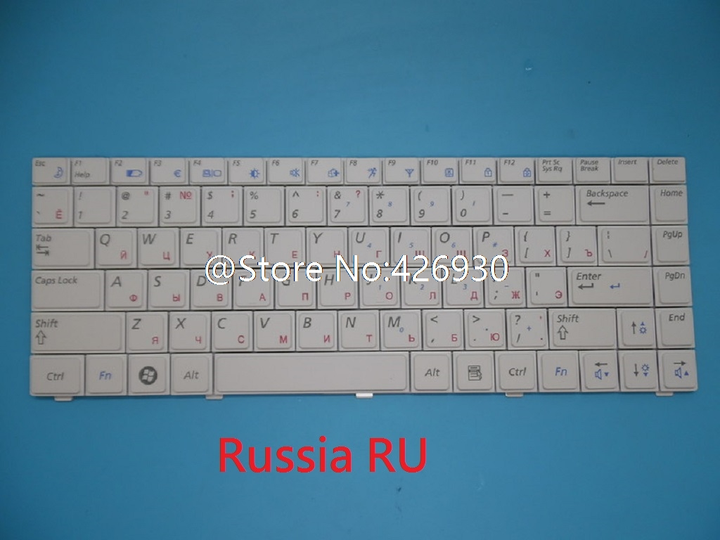 Keyboard For <font><b>Samsung</b></font> X418 X420 X318 X320 <font><b>P480</b></font> P478 FR French UK English US Russia RU Portugal PO PT Spain SP Italy IT NEW image