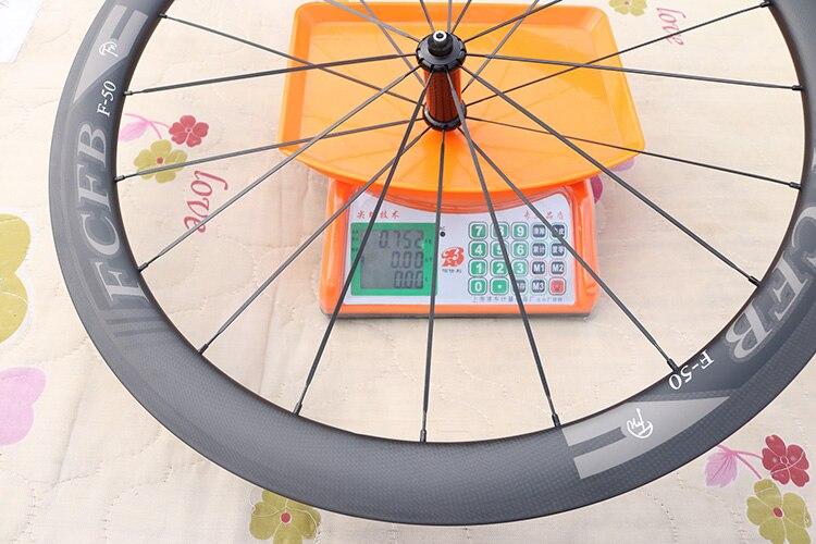 HTB14oSDPpXXXXaNXFXXq6xXFXXXt - 2017 FCFB road carbon wheels 700C F50 carbon wheels with R36 hubs for Road Bike, 25mm width 3Kmatt Carbon Road clincher wheelset