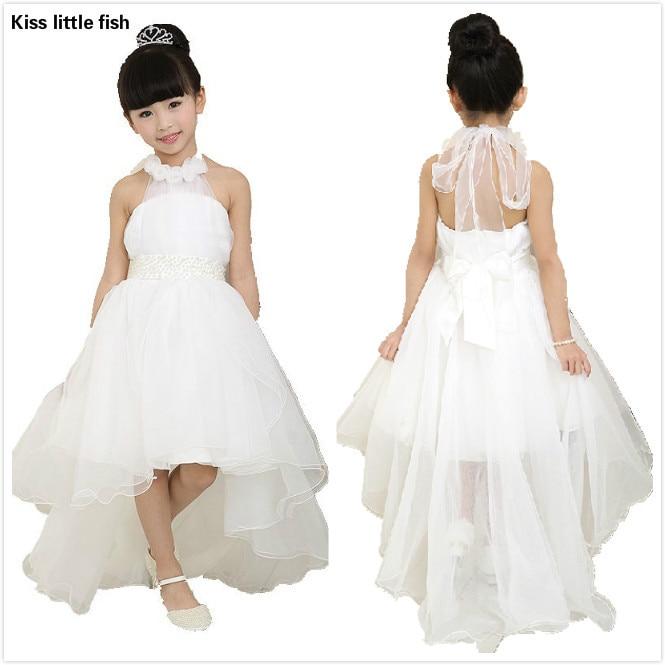 1668 17 De Descuentoenvío Gratis Vestidos De Niña De Las Flores Para Bodas Elegante Vestido De Cola Envío Rápido Vestido De Princesa De Las