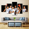 Forbeauty 5 Piece Canvas Painting Kentucky NBA NBA Basketball The Players Had A Group Photo Taken