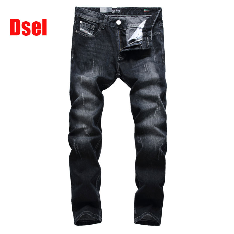 2017 New Original High Quality Dsel Brand Men Jeans Straight Fit Distressed Ripped Jeans For Men Dsel Brand Jeans Home,709-2 2017 new original high quality dsel brand men jeans straight fit distressed ripped jeans for men dsel brand jeans home 604 a