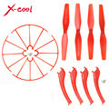 Syma X5HW X5HC Spare Parts Set 4 x Landing Gear + 4 x Blade Propeller + 4 x Protect Ring + 8 x Screws for RC Quadcopter Drone