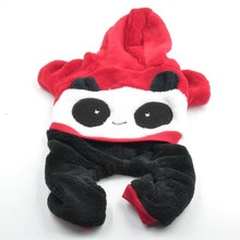 Big Face Panda Pet Clothes Popular Overalls For Dogs Cats Clothing Small Dog Four-legged Puppy Outfits