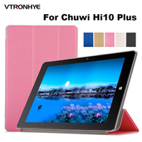 Case For Chuwi Hi10 Plus 10 8 Inch Tablet PC Cover VTRONHYE Ultrathin PU Leather Protective