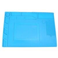 Heat Insulation Maintenance Electronic Repair Mat Silicone Repairing Pad Platform Electronic Repair Tool Desk Mat Pad