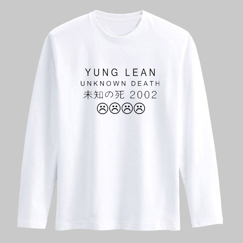 c4317d64a5c8 Yung Lean Famous Band tee shirt long sleeve for men Autumn Spring tshirts  cotton men Fashion Casual funny t shirts hip hop -in T-Shirts from Men's  Clothing ...