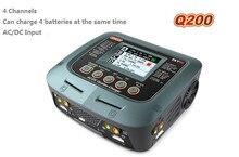 HEIßER SKYRC Q200 1 bis 4 intelligente ladegerät/Entlader AC/DC für Lipo/LiHV/Lithium-eisen/Lithium-ionen/NiMH/NiCD/blei-säure-batterie