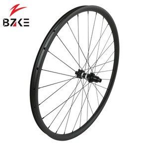 Image 4 - פחמן גלגלי 29 mtb אופניים זוג גלגלי boost הרי אופני גלגלי 29er XD מרכז מנעול דיסק 350 רכזות 148*12 110*15mm thru 30 רחב